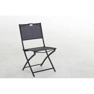 Chaise pliante Les Compatibles - Noir