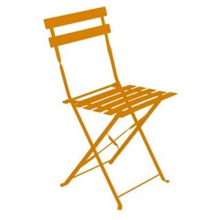 Chaise de jardin pliante Camarque - Orange