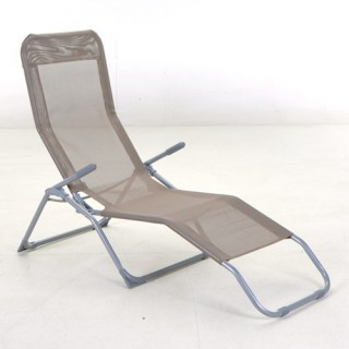 Transat / Chaise longue Siesta - Taupe