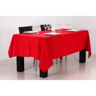 Nappe anti-taches - 140 x 240 cm - Rouge bordeau