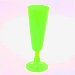 6 flûtes Tutti Frutti - Plastique - Vert
