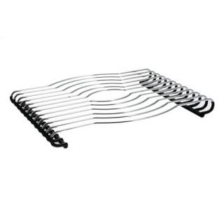 Dessous de plat antidérapant - Métal - Gris