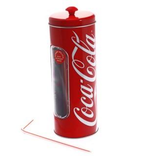 Support à 50 pailles Coca Cola
