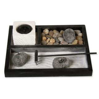 Jardin zen en pierre - L. 20 cm