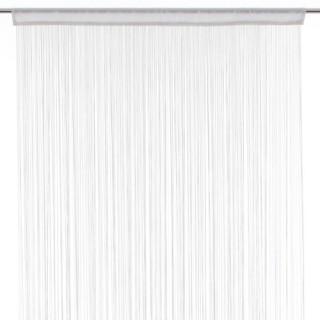 Rideau fils - 120 x 240 cm - Blanc