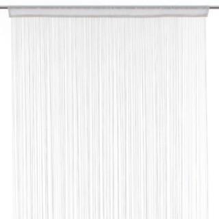 Rideau fils - 90 x 200 cm - Blanc