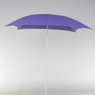 Parasol de plage Helenie - Carré - 1,8m - Bleu