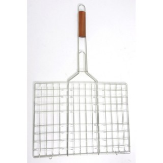 Grille pour Barbecue double maille - 40 x 30 cm