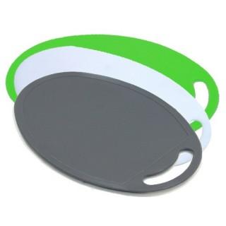 3 planches à découper pièces Green - 3 couleurs