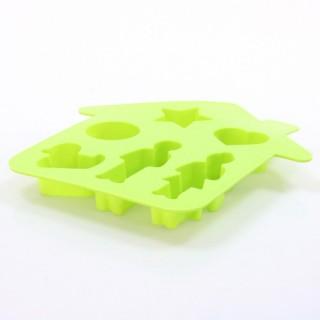 Moule fantaisie Maison - Silicone - Vert