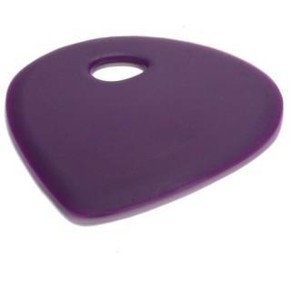 Corne de patissier en silicone - Violet
