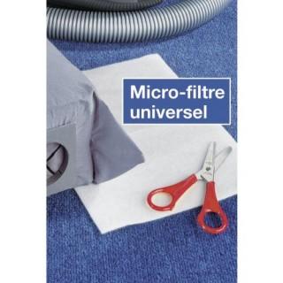 Micro-filtre universel pour aspirateur