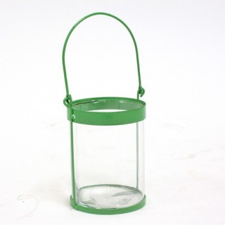 Lanterne colorée - Metal - Vert