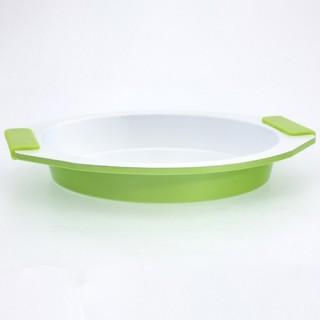 Moule à cake rond - Céramique - Vert