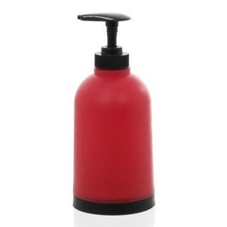 Distributeur de savon - Plastique - Rouge