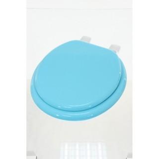 Abattant WC uni - MDF - Turquoise