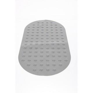 Tapis de fond de baignoire anti-dérapant - Gris