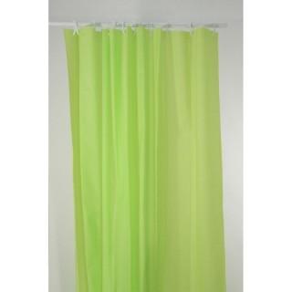 Rideau de douche Eva - 180 x 200 cm - Vert anis
