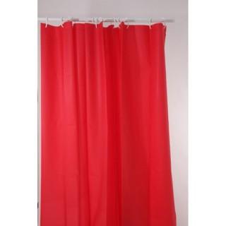 Rideau de douche polyester 180 x 200 cm taupe - Rideau de douche rouge ...