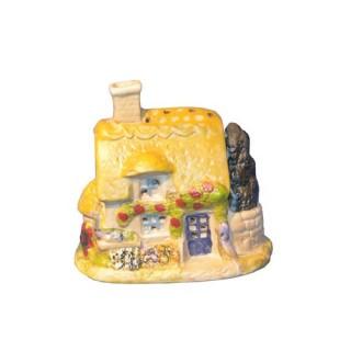 Maison provençale - Céramique - Toit dentelé