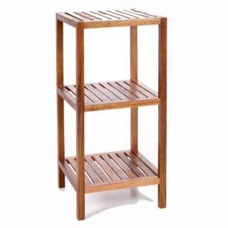 Etagère de salle de bain 3 niveaux - Bambou
