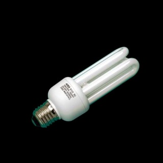 Ampoule Fluocompacte éco 3U E27 - 22W