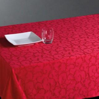 Nappe anti-tâches - 140 x 240 cm - Rouge