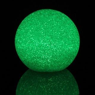 Boule LED effet cristal - Diamètre 7,5 cm