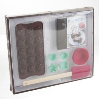 Coffret Chocolatier et livre de recettes