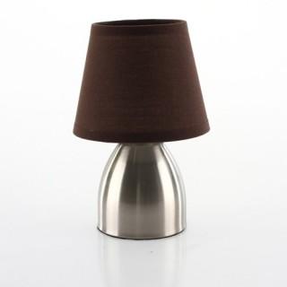 Lampe de chevet haute pied en galets et ampoule for Lampe de chevet haute