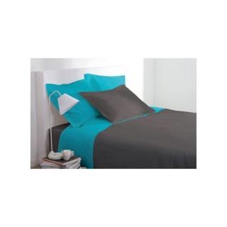 Drap plat - 240 x 290 cm - Turquoise