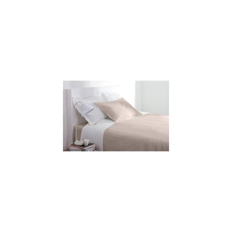 drap plat 240 x 290 cm couleur lin decoandgo. Black Bedroom Furniture Sets. Home Design Ideas
