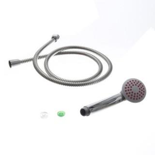Flexible et pommeau de douche en plastique ABS - 1,50 m - Vert