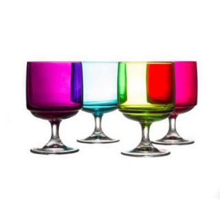 4 Verres Tower - Multicolore