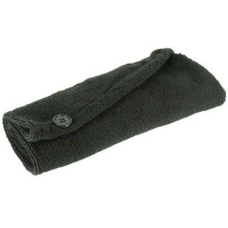 Serviette pour cheveux Microfibre - Noir