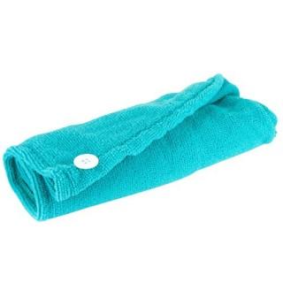 Serviette pour cheveux Microfibre - Turquoise
