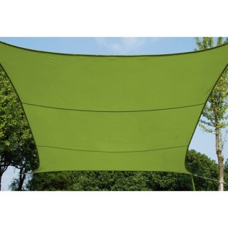 Toile solaire / Voile d'ombrage Curacao - 3 x 4 m. - Vert
