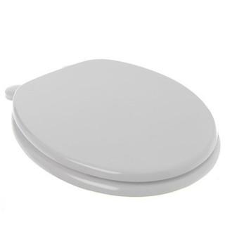 Abattant WC - Bois - Blanc