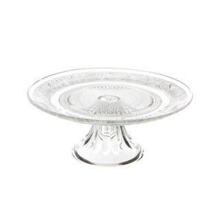 Présentoir à gâteaux Renaissance - Diam. 23 cm. - Verre