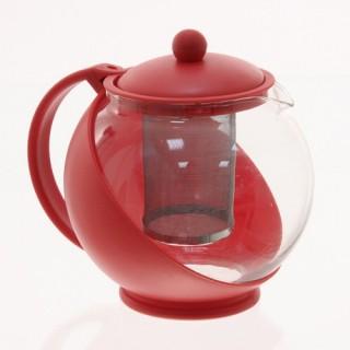 Théière Filtre - 1,25 L. - Rouge