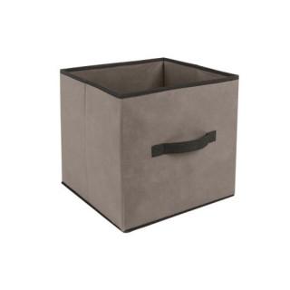 Boîte de rangement - 31 x 31 cm. - Taupe
