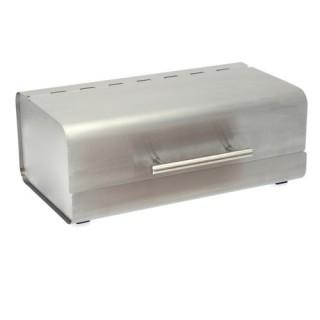 Boîte à pain regtangulaire - Inox