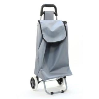 Chariot de marché Aquarelle - 30 L - Gris