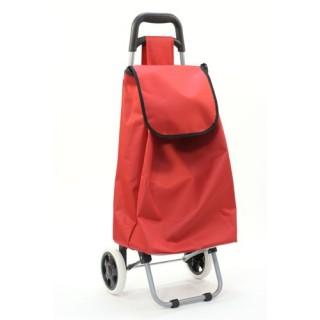 Chariot de marché Aquarelle - 30 L - Rouge