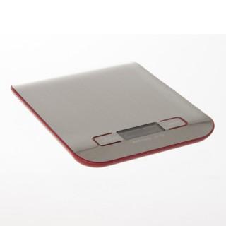 Balance digitale - Inox - Rouge