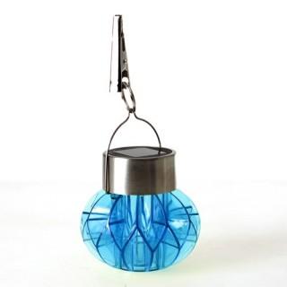 Lampe solaire à suspendre - Bleu