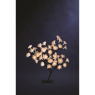 Arbre lumineux Fleurs - 48 LED - Blanc
