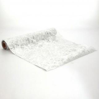 Tissu de décoration de Fêtes - 5 m - Argent