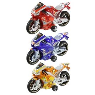 3 Petites Motos de course - A Friction