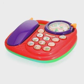 Jouet éducatif - Téléphone muscial - Rouge
